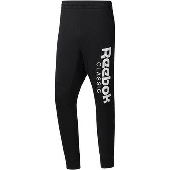 tekstylia Męskie Spodnie dresowe Reebok Sport DH2089 Czarny
