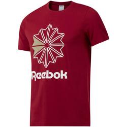 tekstylia Męskie T-shirty z krótkim rękawem Reebok Sport DH2096 Czerwony