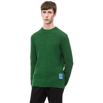 tekstylia Męskie Swetry Calvin Klein Jeans K10K102731 Zielony
