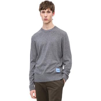 tekstylia Męskie Swetry Calvin Klein Jeans K10K102739 Szary