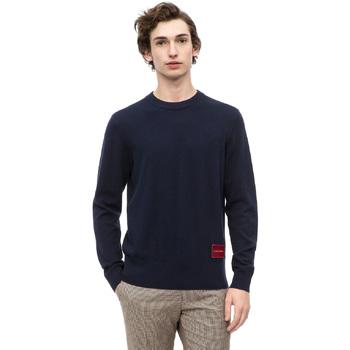 tekstylia Męskie Swetry Calvin Klein Jeans K10K102739 Niebieski