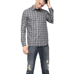 tekstylia Męskie Koszule z długim rękawem Diesel 00SLNG 0TATG Czarny