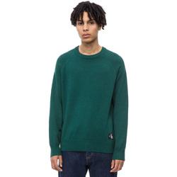 tekstylia Męskie Swetry Calvin Klein Jeans J30J309563 Zielony