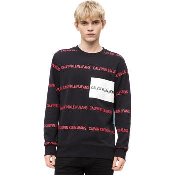 tekstylia Męskie Swetry Calvin Klein Jeans J30J309796 Czarny