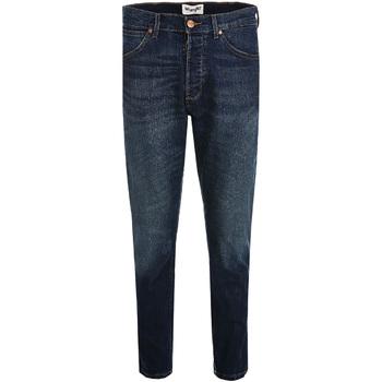 tekstylia Męskie Jeansy slim fit Wrangler W18RRS Niebieski