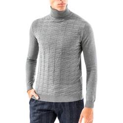 tekstylia Męskie Swetry Antony Morato MMSW00848 YA200055 Szary