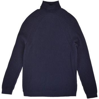 tekstylia Męskie Swetry Antony Morato MMSW00864 YA100029 Niebieski