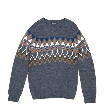 tekstylia Męskie Swetry Antony Morato MMSW00885 YA400006 Szary