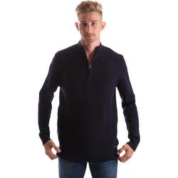 tekstylia Męskie Swetry Gas 561974 Niebieski