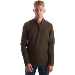 tekstylia Męskie Swetry Gas 561974 Zielony