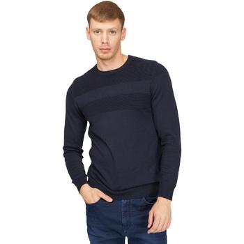 tekstylia Męskie Swetry Gas 561990 Niebieski