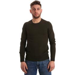 tekstylia Męskie Swetry Gaudi 821BU53003 Zielony