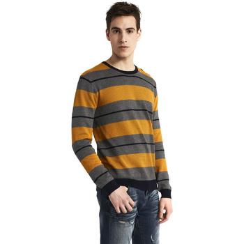 tekstylia Męskie Swetry Gaudi 821BU53017 Szary
