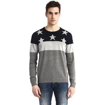 tekstylia Męskie Swetry Gaudi 821BU53029 Szary