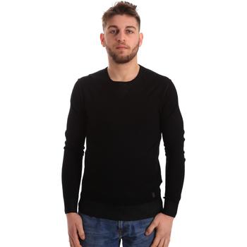 tekstylia Męskie Swetry Gaudi 821BU53036 Czarny