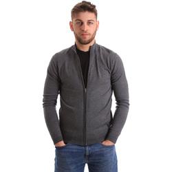 tekstylia Męskie Swetry rozpinane / Kardigany Gaudi 821BU53037 Szary