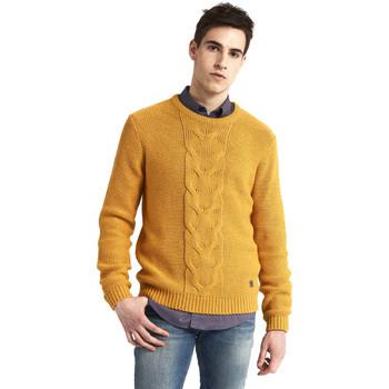tekstylia Męskie Swetry Gaudi 821BU53042 Żółty