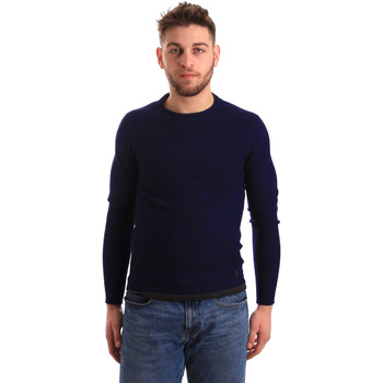 tekstylia Męskie Swetry Gaudi 821BU53043 Niebieski