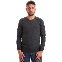 tekstylia Męskie Swetry Gaudi 821FU53008 Szary