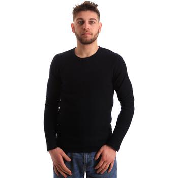 tekstylia Męskie Swetry Gaudi 821FU53016 Niebieski