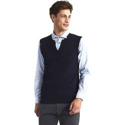 tekstylia Męskie Swetry rozpinane / Kardigany Gaudi 821FU53025 Niebieski