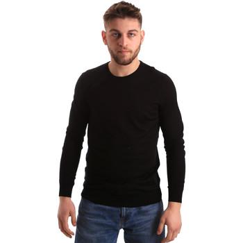 tekstylia Męskie Swetry Gaudi 821FU53080 Czarny
