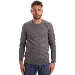 tekstylia Męskie Swetry Gaudi 821FU53080 Szary