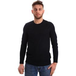 tekstylia Męskie Swetry Gaudi 821FU53080 Niebieski