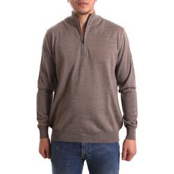 tekstylia Męskie Swetry Navigare NV1100550 Beżowy