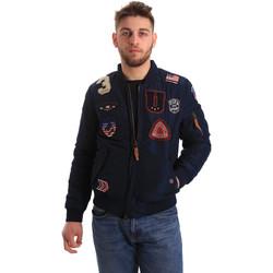 tekstylia Męskie Kurtki krótkie U.S Polo Assn. 50353 52252 Niebieski