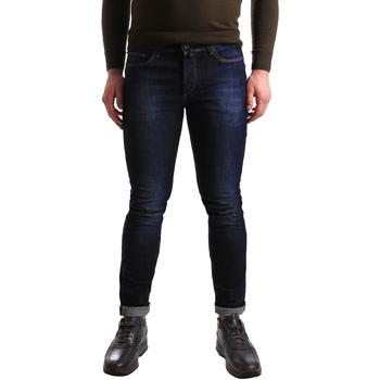 tekstylia Męskie Jeansy skinny U.S Polo Assn. 50780 51321 Niebieski