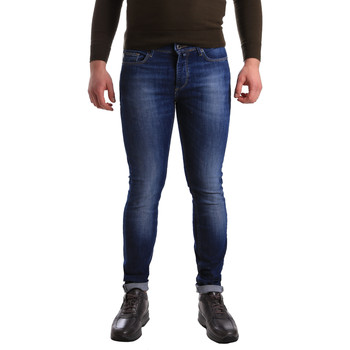 tekstylia Męskie Jeansy skinny U.S Polo Assn. 50778 51321 Niebieski