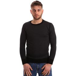 tekstylia Męskie Swetry Bradano 166 Czarny