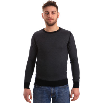 tekstylia Męskie Swetry Bradano 166 Niebieski