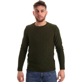 tekstylia Męskie Swetry Bradano 155 Zielony
