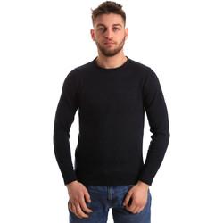 tekstylia Męskie Swetry Bradano 163 Niebieski