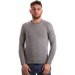 tekstylia Męskie Swetry Bradano 163 Szary