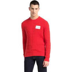 tekstylia Męskie Swetry Calvin Klein Jeans J30J307800 Czerwony