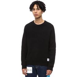tekstylia Męskie Swetry Calvin Klein Jeans J30J309547 Czarny