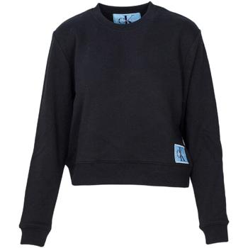 tekstylia Damskie Bluzy Calvin Klein Jeans J20J208047 Czarny