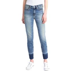 tekstylia Damskie Jeansy slim fit Calvin Klein Jeans J20J208060 Niebieski