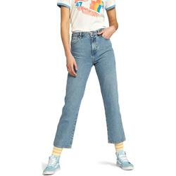 tekstylia Damskie Jeansy straight leg Wrangler W238GF Niebieski