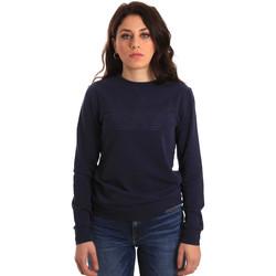 tekstylia Damskie Bluzy Ea7 Emporio Armani 6ZTM84 TJ31Z Niebieski
