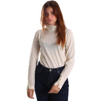 tekstylia Damskie Swetry Gas 566589 Biały