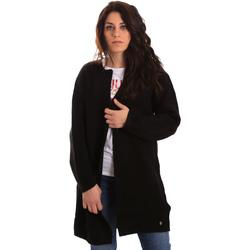 tekstylia Damskie Swetry rozpinane / Kardigany Gaudi 821BD53024 Czarny