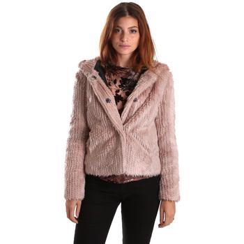 tekstylia Damskie Kurtki krótkie Gaudi 821FD39003 Różowy