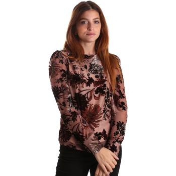 tekstylia Damskie Topy / Bluzki Gaudi 821FD45007 Różowy
