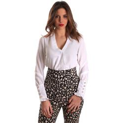 tekstylia Damskie Topy / Bluzki Gaudi 821FD45014 Biały