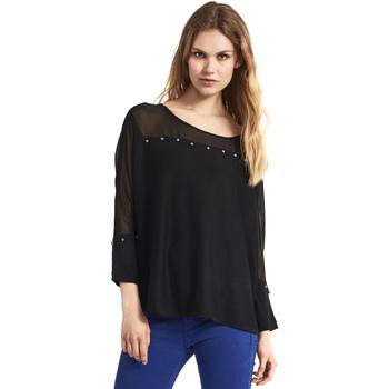 tekstylia Damskie Swetry Gaudi 821FD53027 Czarny
