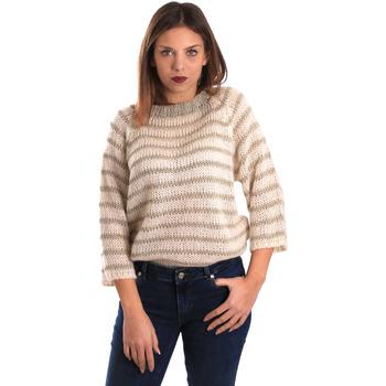 tekstylia Damskie Swetry Gaudi 821FD53040 Beżowy